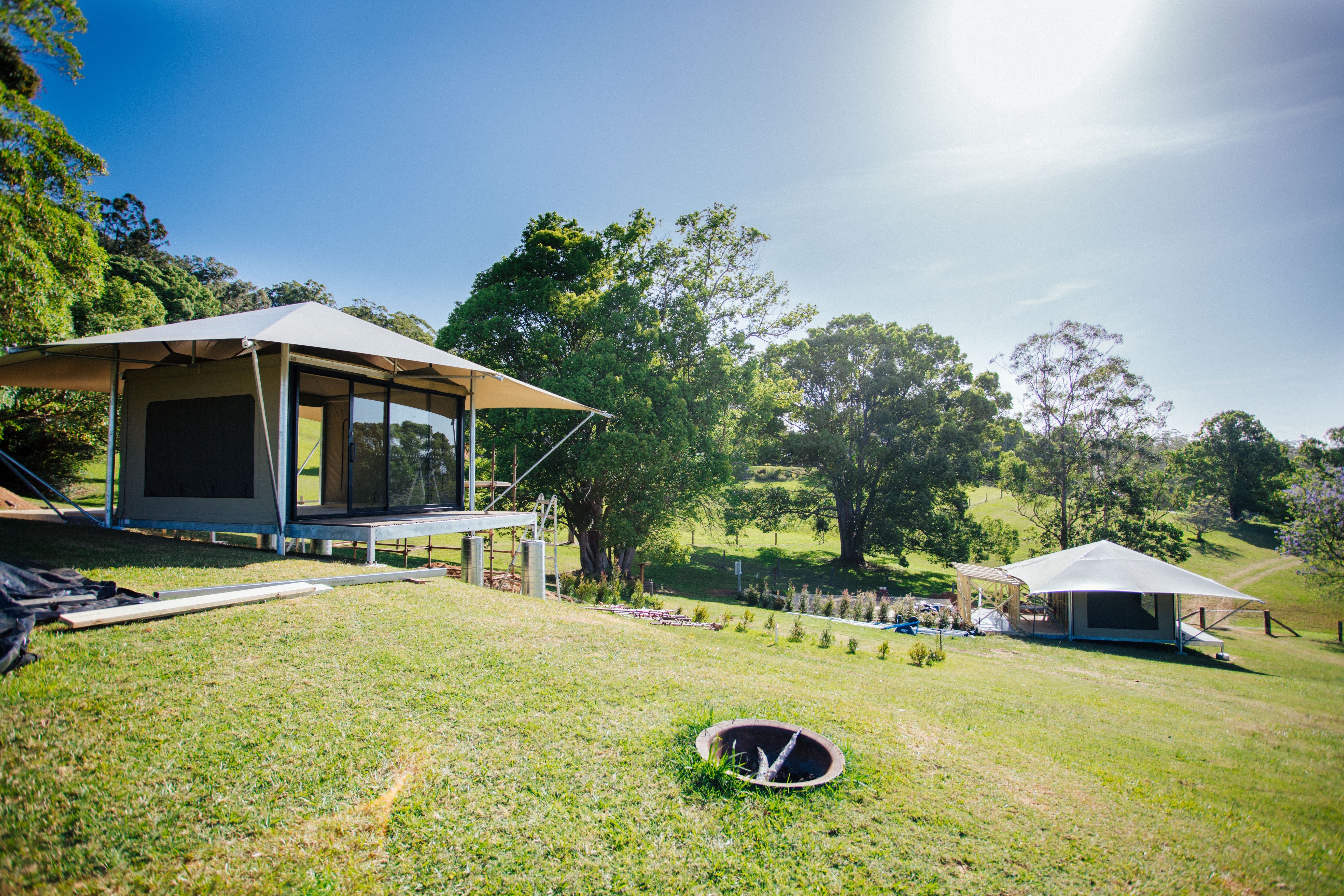 Luxury Glamping Eco Structure